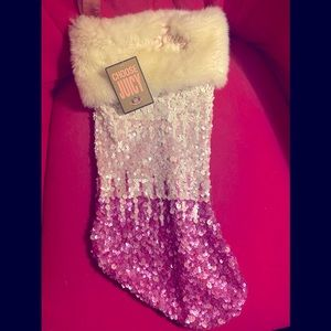 Juicy Couture 💖 Pink Sequined Stocking